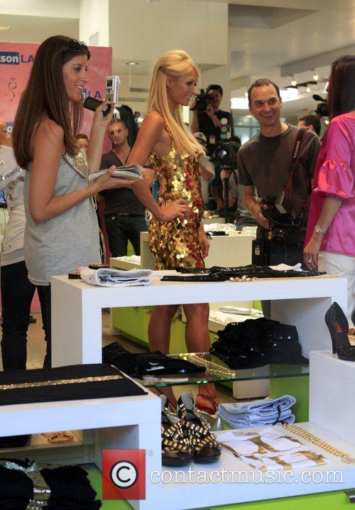 Paris Hilton and Jeff Vespa (r) Paris Hilton's...