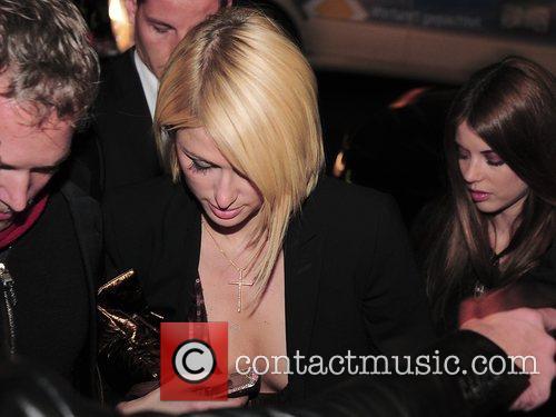 Paris Hilton  arriving at Maxxim Nightclub,...
