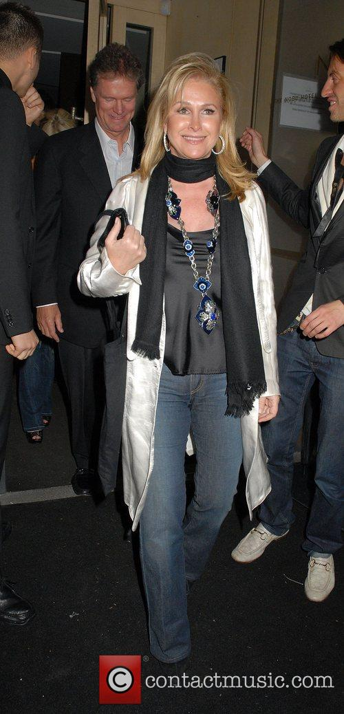 Kathy Hilton and Rick Hilton leaving Nobu Berkeley...