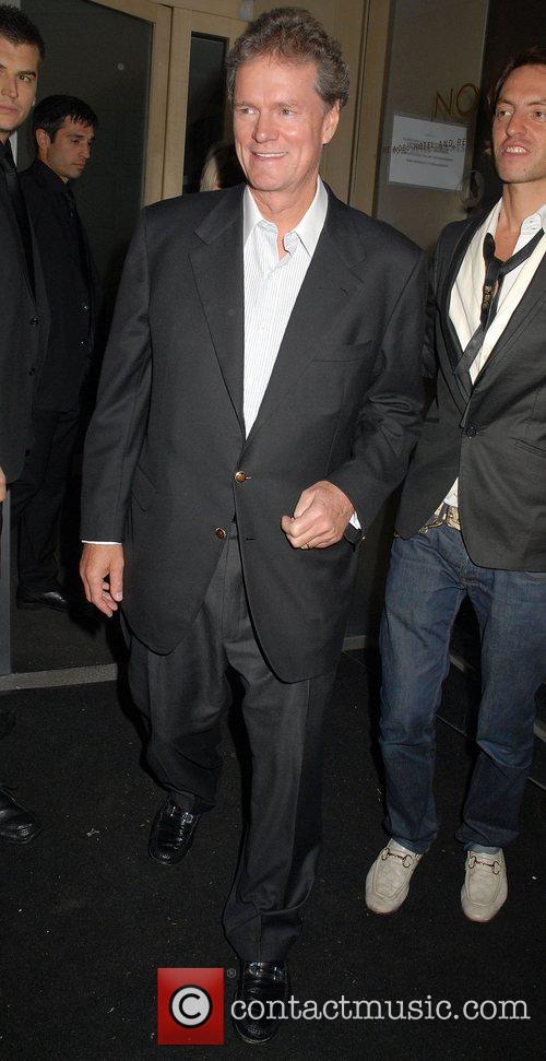 Rick Hilton leaving Nobu Berkeley restaurant. London, England