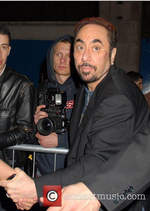 David Gest Attends Paris Hilton's launch party for...