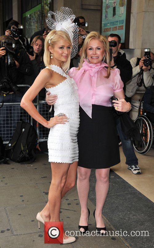 Paris Hilton and Kathy Hilton Paris Hilton promotes...