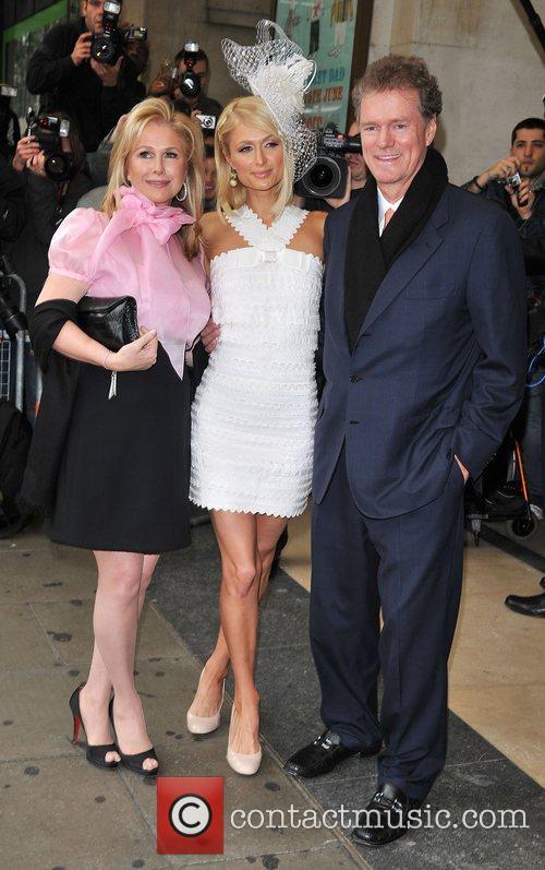 Paris Hilton, Kathy Hilton and Rick Hilton Paris...
