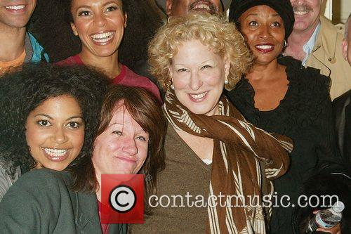 Bette Midler, her husband Martin Von Haselburg, Jenifer...