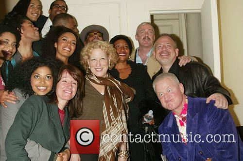 Bette Midler, Her Husband Martin Von Haselburg, Jenifer Lewis, Scott Wittman and Marc Shaiman Visit The Cast Of The New Broadway Musical 'passing Strange' At The Belasco Theatre 4