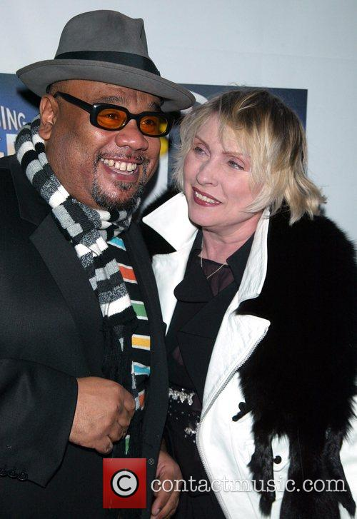 Stu and Debbie Harry Opening night of the...