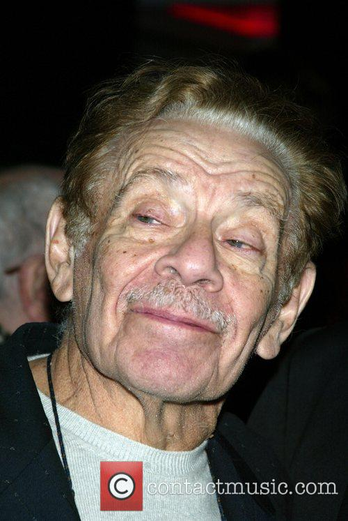 Jerry Stiller Opening night of the Broadway musical...