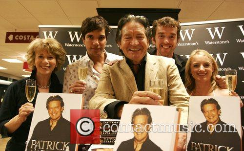 Patrick Mower at the book signing for his...