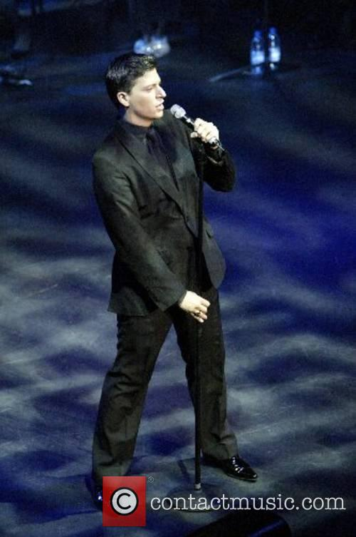 Patrizio Buanne performing in concert at the State...