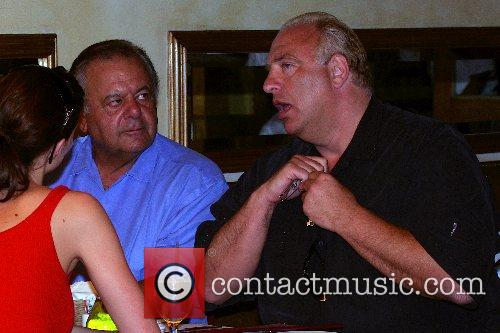Paul Sorvino meets up with friends for lunch...