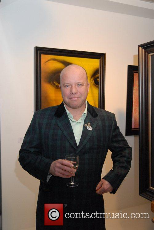 Paul Karslake attend The Ideas and Idols Exhibition...