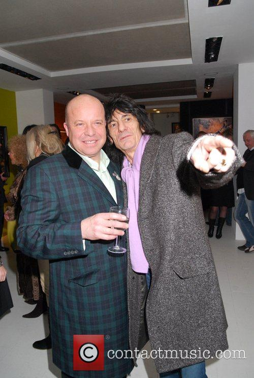 Ronnie Wood and Paul Karslake 2