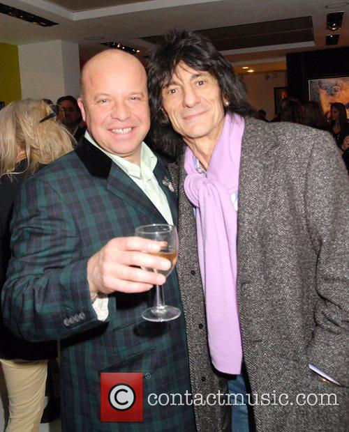 Ronnie Wood and Paul Karslake 8