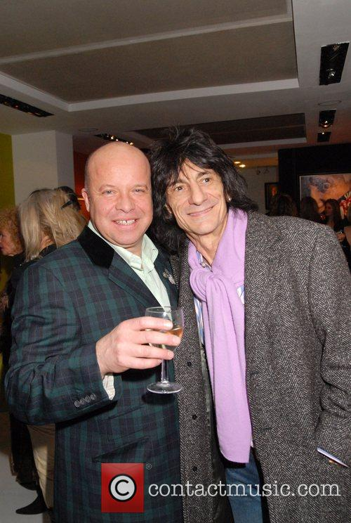 Ronnie Wood and Paul Karslake 9