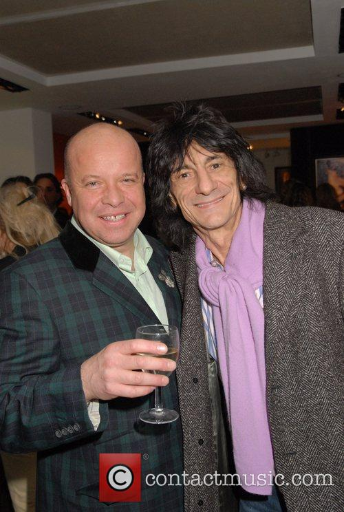 Ronnie Wood and Paul Karslake 6