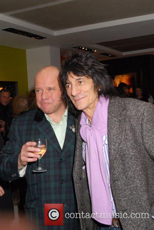 Ronnie Wood and Paul Karslake 3