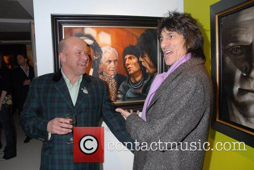 Ronnie Wood and Paul Karslake 1