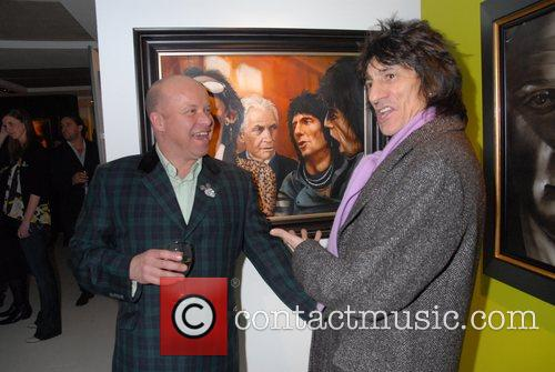 Ronnie Wood and Paul Karslake 7