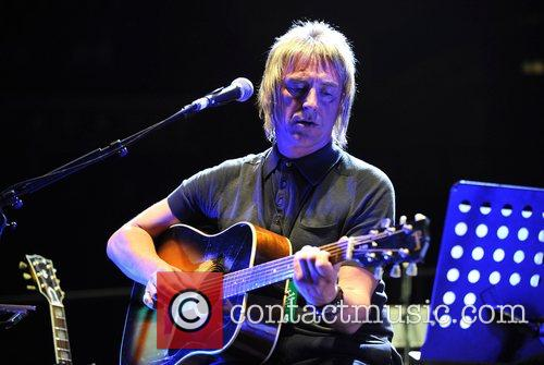 Paul Weller performing at The Teenage Cancer Trust...