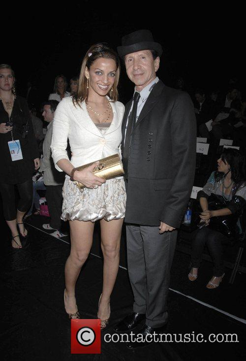 Elena Shaffi and guest Mercedes-Benz Autumn 2008 LA...