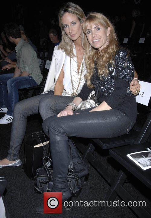 Lady Victoria Hervey and Julia Verdin Mercedes-Benz Autumn...