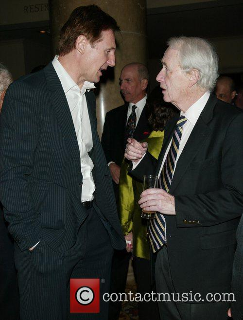 Liam Neeson and Frank Mccourt