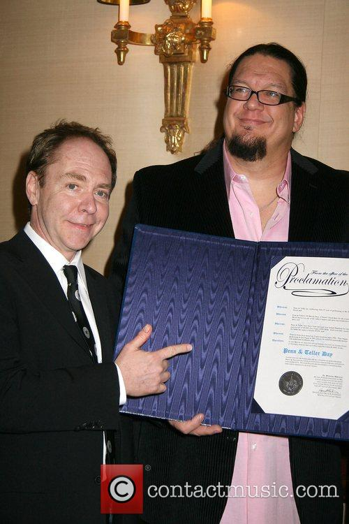 Entertainment duo Penn and Teller celebrate Five Years...