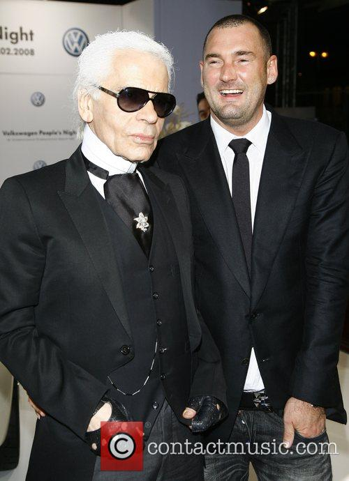 Karl Lagerfeld, Michael Michalsky VW People's Night at...
