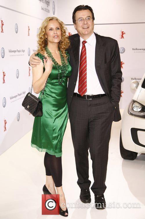 Katja Burkard, husband Hans Mahr VW People's Night...