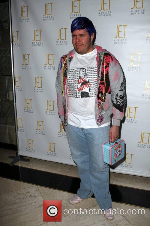 Perez Hilton arrives at Jet Night Club at...