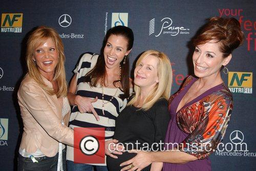 Paige Adams Geller, Brooke Burns, Angela Kinsey and...