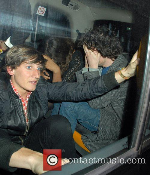 Miquita Oliver and Simon Amstell Hiding Their Faces 3