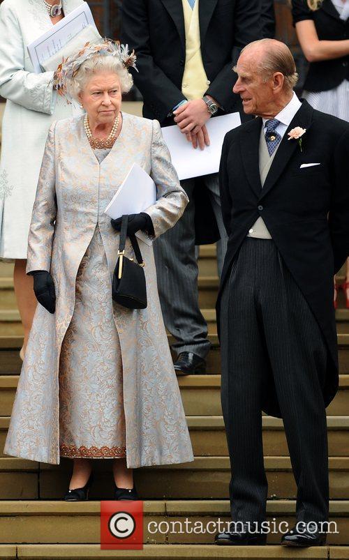 Queen Elizabeth Ll and Peter Phillips 2