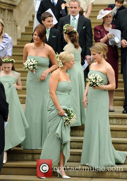 Chats to other bridesmaids following the marriage of...