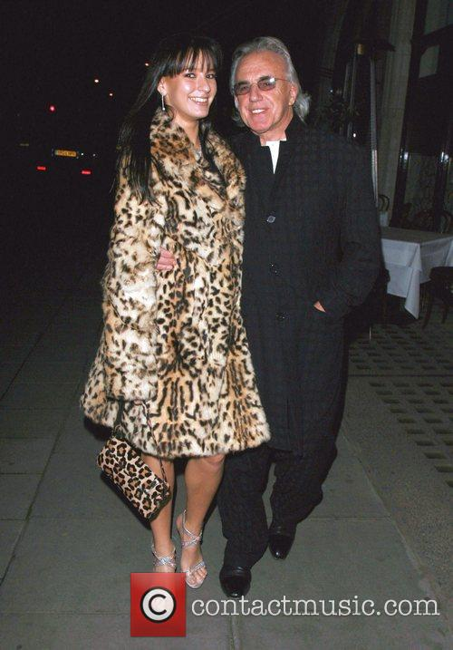 Peter Stringfellow and wife Bella Stringfellow at Scott's...
