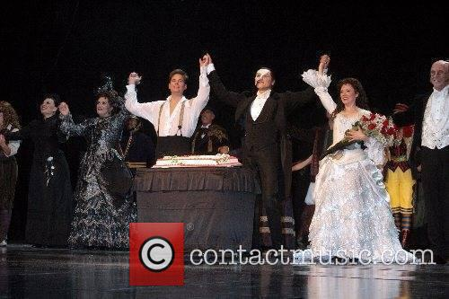 'Phantom of The Opera' celebrates it's first anniversary...