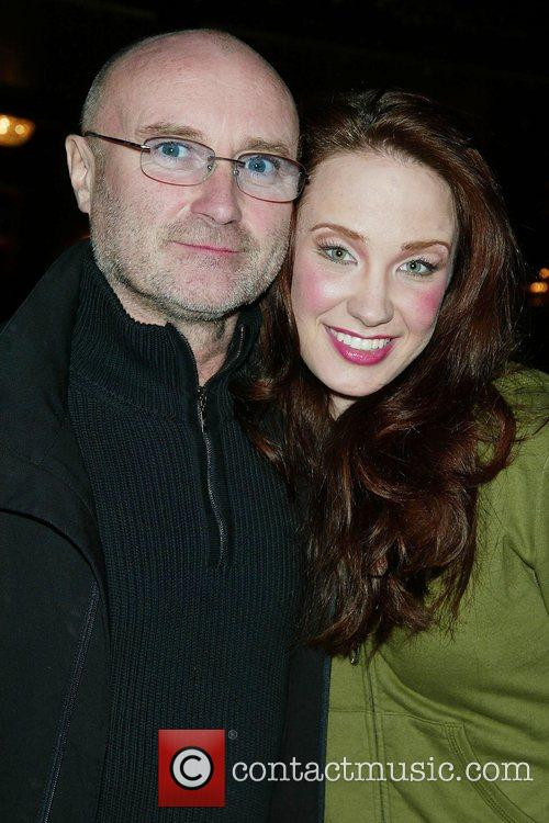 Phil Collins and Sierra Boggess at Broadway's New...