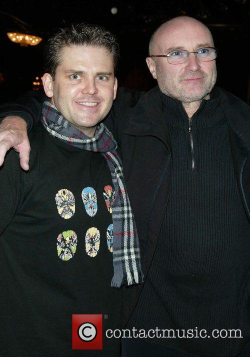 Robert Creighton and Phil Collins at Broadway's New...