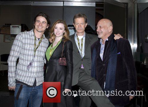Jason Ritter, Fiona Glascott, William H. Macy and Thom Cardwell 3