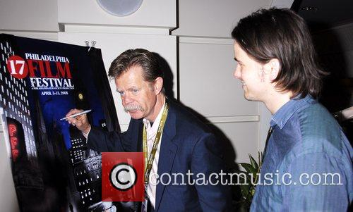 William H. Macy and Jason Ritter The cast...