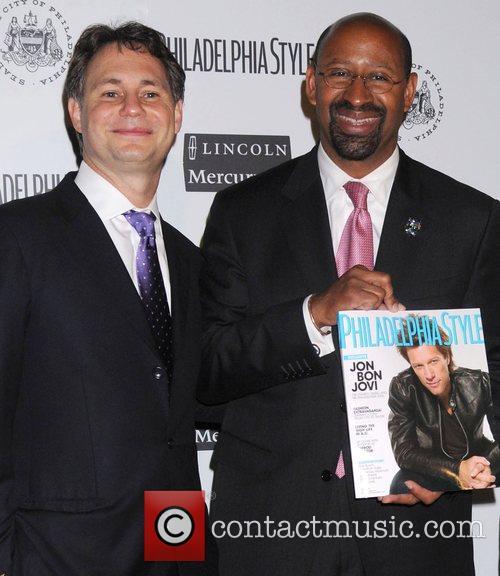 Jason_Binn_Mayor_Nutter_Phila_HJD.jpg Philadelphia Style Magazine's relaunch party at City...