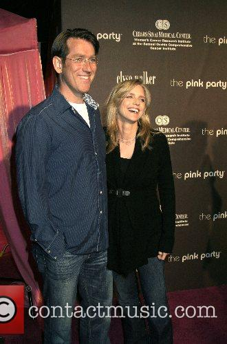 Courtney Thorne-smith and Husband Roger Fishman