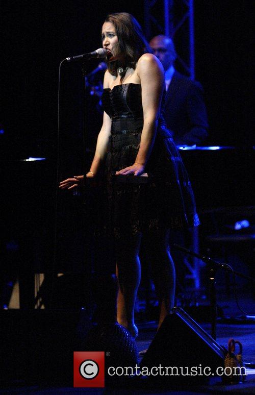 Pink Martini performing live in concert at the...