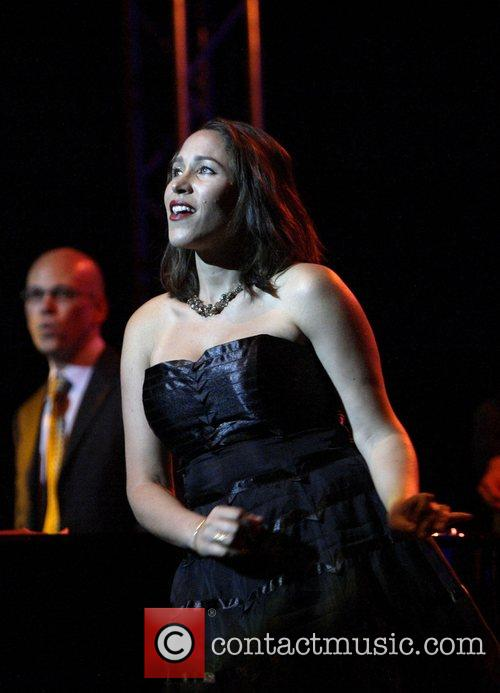 China Forbes Pink Martini performing live in concert...