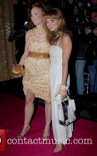 Kara Tointon and Guest The Pink Ice Ball...