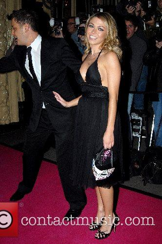Adele Silva and guest The Pink Ice Ball...