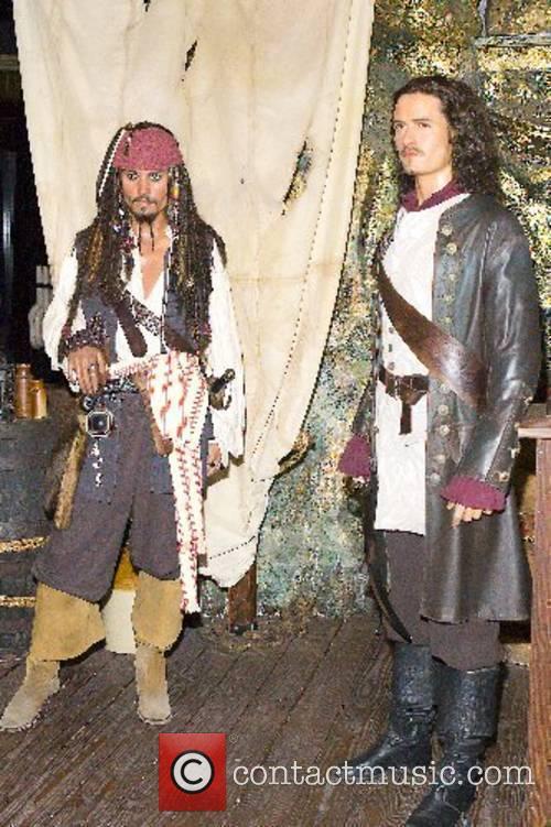 Johnny Depp, Madame Tussauds