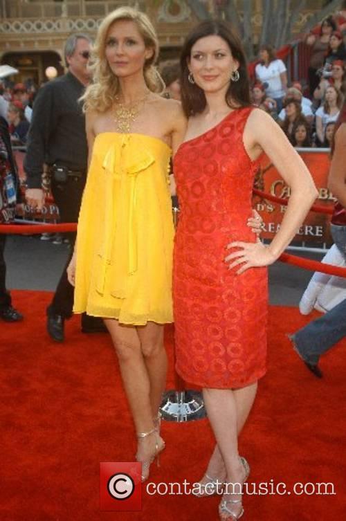 Vanessa Branch, Lauren Maher World Premiere of Walt...