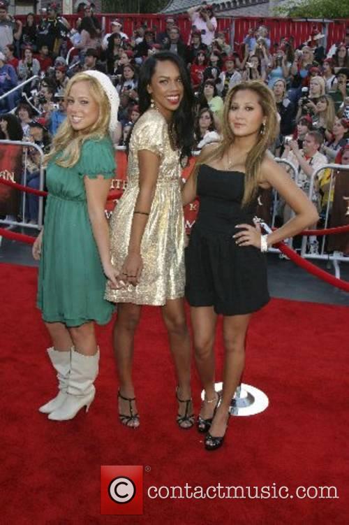 Cheetah Girls, Sabrina Bryan, Keily Williams, and Adrienne...