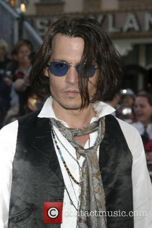 Johnny Depp, Disneyland